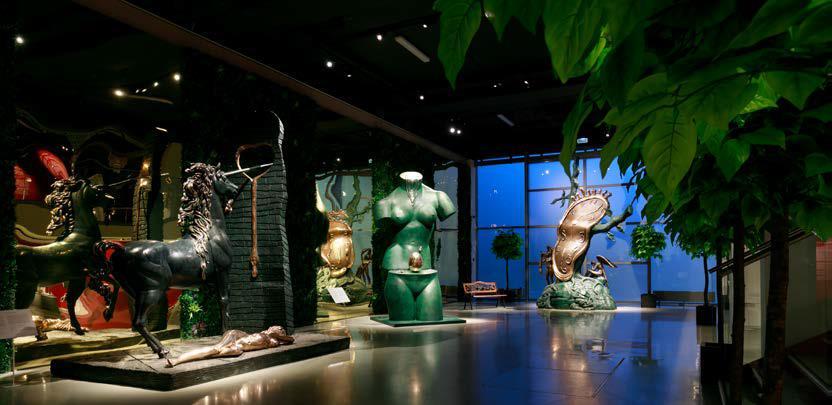 Выставка «Скульптуры Сальвадора Дали». 2018 год
