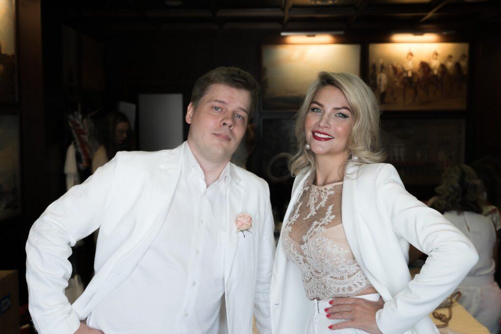 Виктор Цветков и Ева Федорович